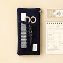 Navy -  Livework A low hill basic pocket pencil case ver2