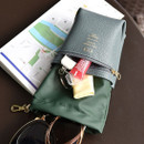 Outside pocket - Sunny twin glasses pocket drawstring pouch