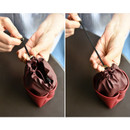Drawstring pouch - Sunny twin glasses pocket drawstring pouch