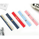 Bookfriends World literature 16cm plastic ruler
