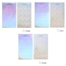 Option - Livework Color palette hologram deco sticker set