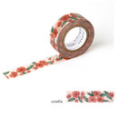 Camellia - Livework Proust pattern single deco masking tape