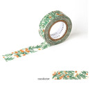 Mandarine - Livework Proust pattern single deco masking tape