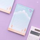 03 - Moonlight illustration checklist notepad