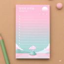 01 - Moonlight illustration checklist notepad