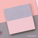 Pink concrete - But today memo notepad