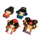 Korean traditional family PVC magnet