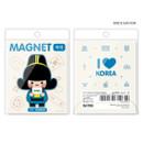 Bridegroom - Korean traditional family PVC magnet