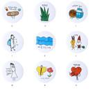 Option - Livework Todac Todac message circle pin button badge