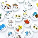 Todac Todac message circle pin button badge