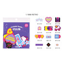 01 1988 retro - After The Rain Twinkle youth club deco sticker pack