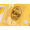 After The Rain 1988 retro clear zip lock small pouch