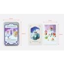 Size - Indigo Classic fairy tale OZ small postcard with stickers