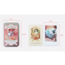 Size - Indigo Alice small postcard with stickers