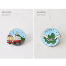 Otpion - gyou Take a trip Seoul badge