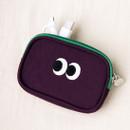 Purple - Livework Som Som stitching card case pouch wallet ver2