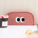 Pink - Livework Som Som stitching card case pouch wallet ver2