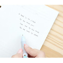 Bookfriends World literature 3 colors in 1 ballpoint pen 0.7 mm
