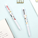 Bookfriends World literature 3 colors in 1 ballpoint pen 0.7 mm