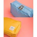 Detail of Ggo deung o beauty cosmetic makeup pouch