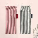 Bookfriends Stripe medium drawstring pouch