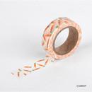 Carrot - Dailylike Fruits deco masking tape set of 4