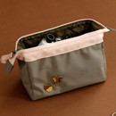Olive - Dailylike Daily standing beauty cosmetic makeup pouch