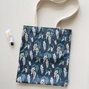 02 Wisteria - Dailylike Laminate fabric tote shoulder bag