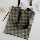 04 gentle mood - Dailylike Laminate fabric tote shoulder bag