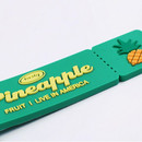 After The Rain Tasty fruits ticket travel luggage name tag