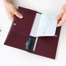 Iconic Slit passport cover case holder wallet
