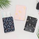 Antenna shop Weekade botanical travel passport holder case