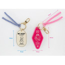 Size - My rolly and Gummies acrylic keyring key holder
