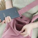 Wanna This La vie est belle canvas fabric shoulder bag
