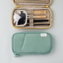 Livework A low hill standard pocket beauty brush cotton pouch