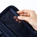 Right - Mesh zipper pouch