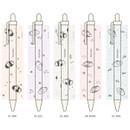 Option - Flying Waikiki knock black ink 0.38 mm ballpoint pen