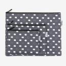 Dailylike Laminated cotton fabric zipper pouch - Skunk fart