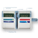 Composition - Seeso Double passport cover case holder