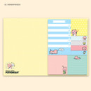 Hongyangssi - Cute illustration marif sticky notebook