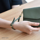 Smoky olive - Allday genuine cowhide leather strap