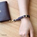 Dark wine - Allday genuine cowhide leather strap