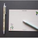 Salut Enchantee knock black ink 0.38 mm ballpoint pen