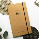 Kraft - O-check Light travel daily planner notebook