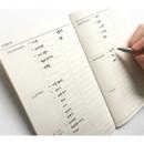 Checklist - O-check Light travel daily planner notebook