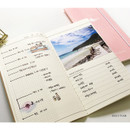 Daily plan - O-check Light travel daily planner notebook