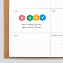 Example - Alphabet and Number paper sticker set