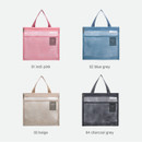 Color - Byfulldesign Travelus Medium slim mesh pouch ver4
