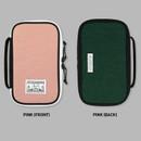 Pink - Washer multi zip around pouch