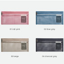 Color - Byfulldesign Travelus slim long mesh pouch ver4